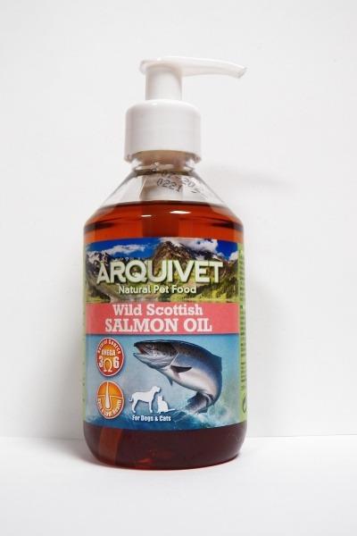 Aceite de Salmón Escocés 250 ml