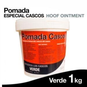 Pomada de Cascos para Caballos Verde 1 kg